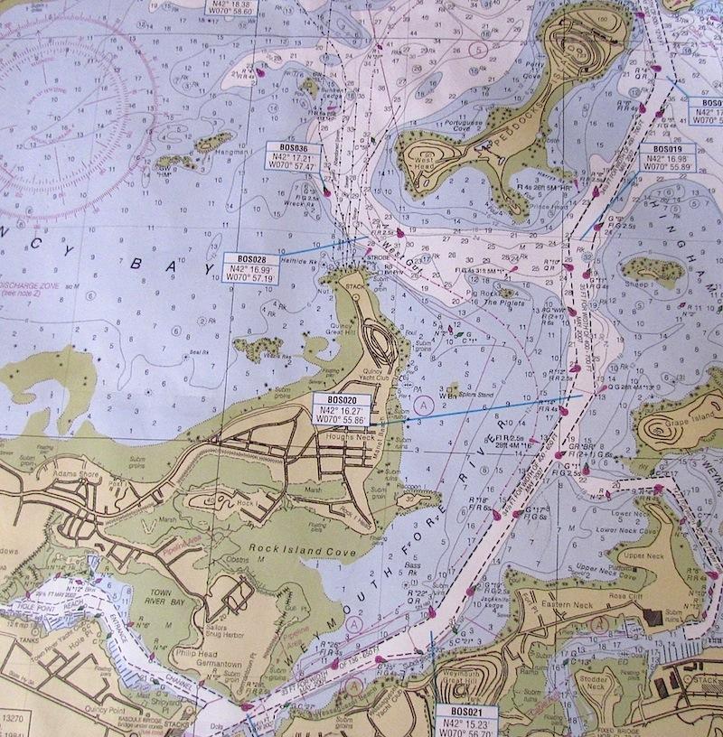 chart peddocks island