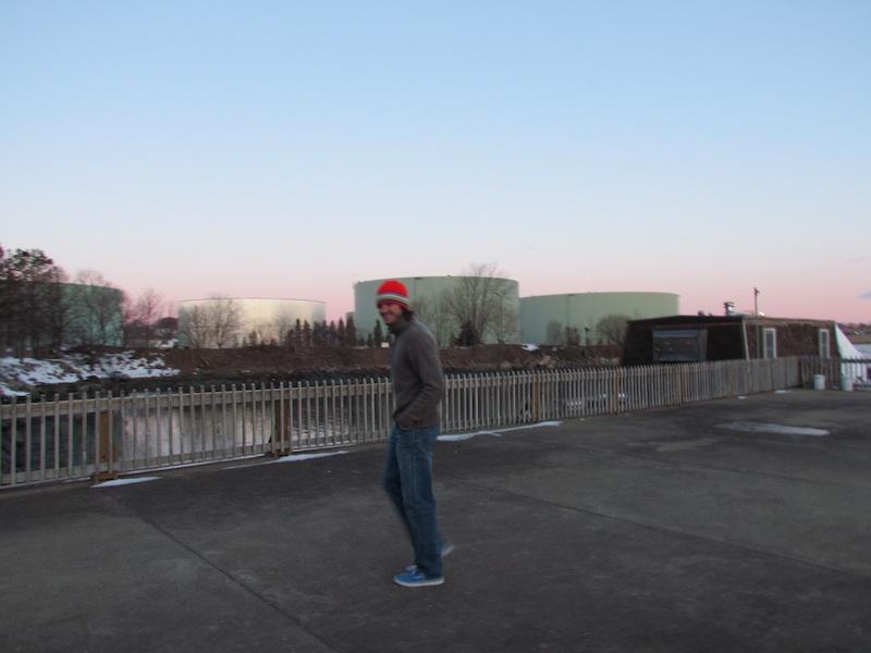 Jeremy at the marina 1