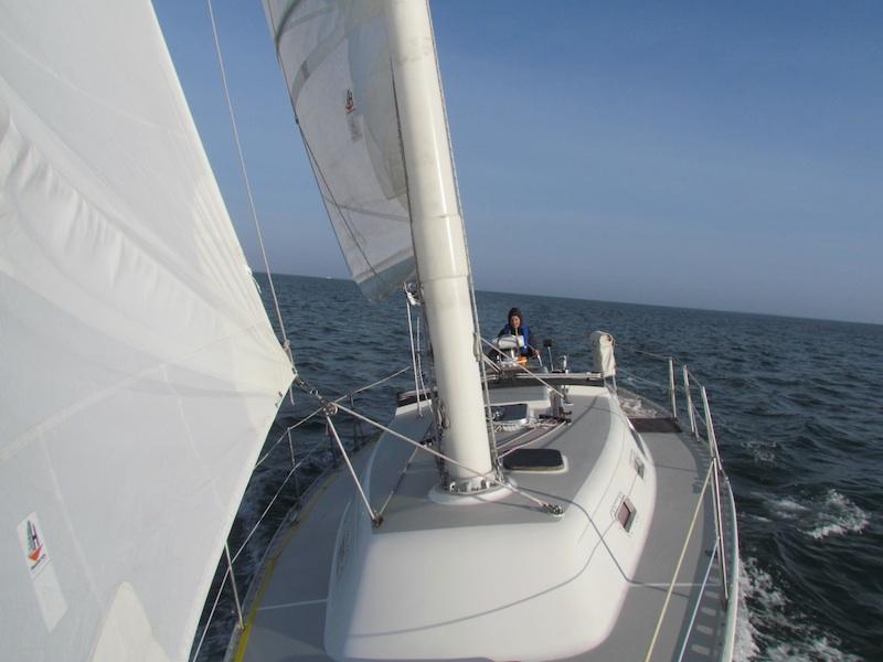 winter sailing long island sound