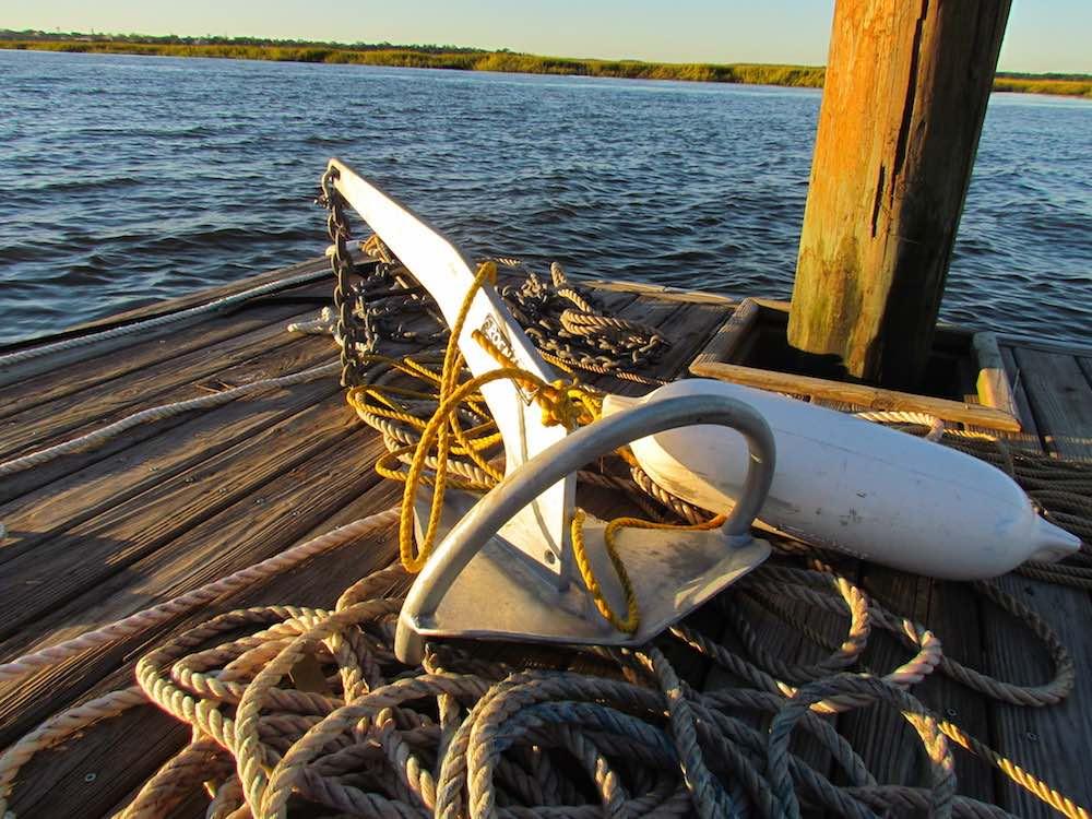 rocna anchor ready for hurricane matthew