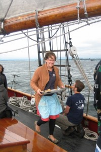Sailing on Adventuress – Part 3, with cookies