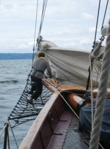 Sailing on Adventuress, Puget Sound's seagoing National Historic Landmark – Part 1