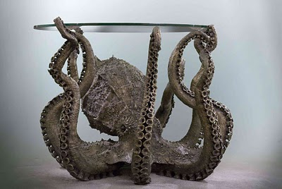 Bronze Octopus Table