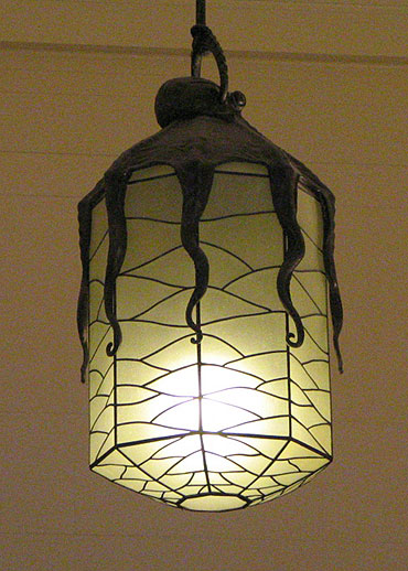 Octopus hanging lamp