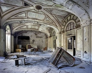 The ruins of a Detroit ballroom