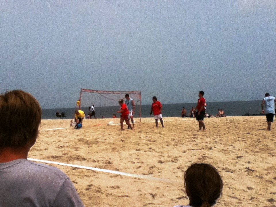 Water Photo of the Week: Sand Soccer in Virginia Beach