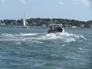 Lobsterman returning home