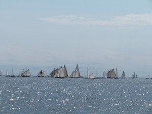 Start of the Gloucester Schooner Race