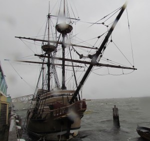 Mayflower during a Nor'Easter