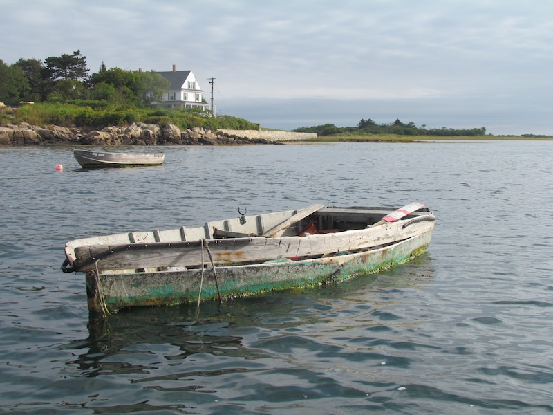 hard used dinghy