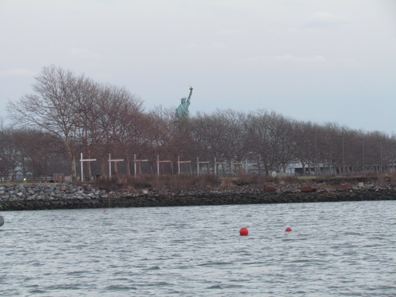 statue of liberty from New Jersey