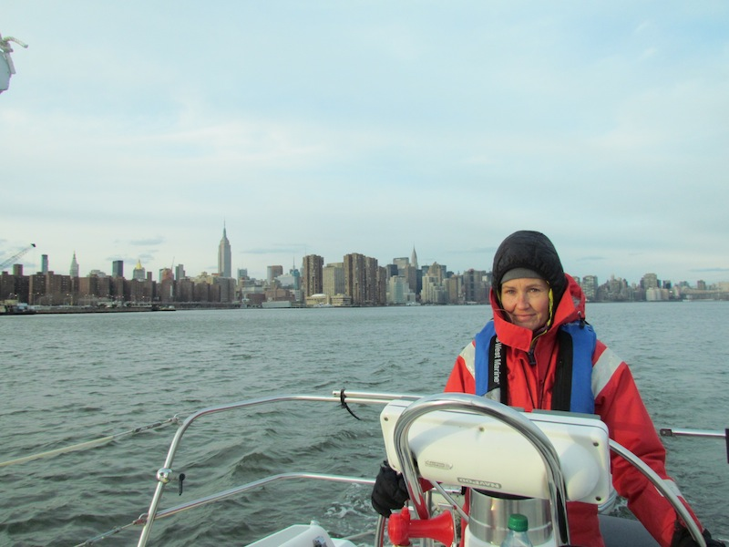 First Mate with Empire State and Chrysler