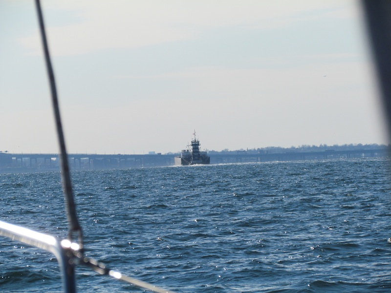 a barge on long island sound