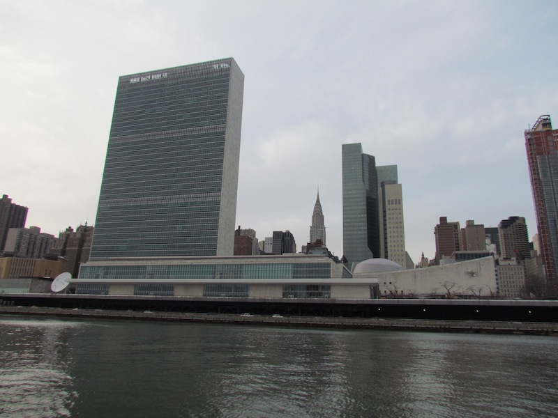 united nations and chrysler bldg
