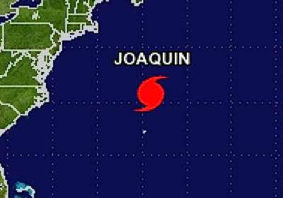 graphic of hurricane joaquin