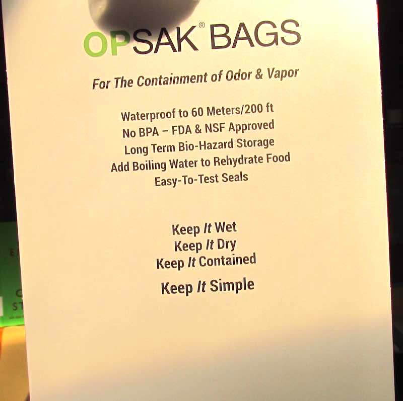 OPSAK specifications