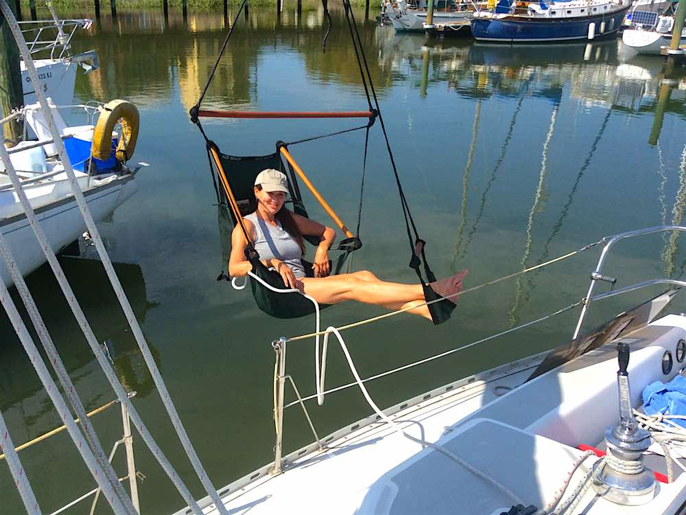 air chair over water & How to Hang it Up and Relax in the Air Chair u2022 TIDAL LIFE