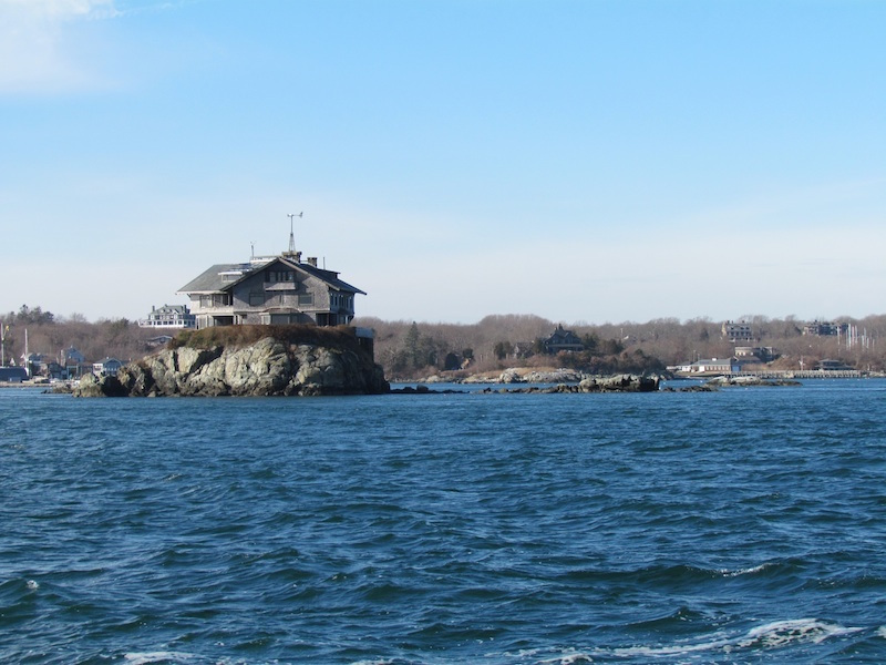 simplifying your life, house on tiny Dumpling Island, Narragansett Bay
