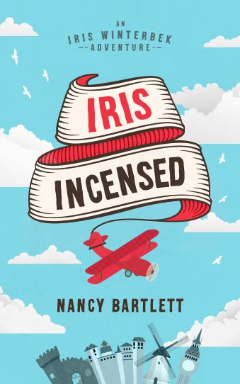 book cover Iris Incensed by Nancy Bartlett