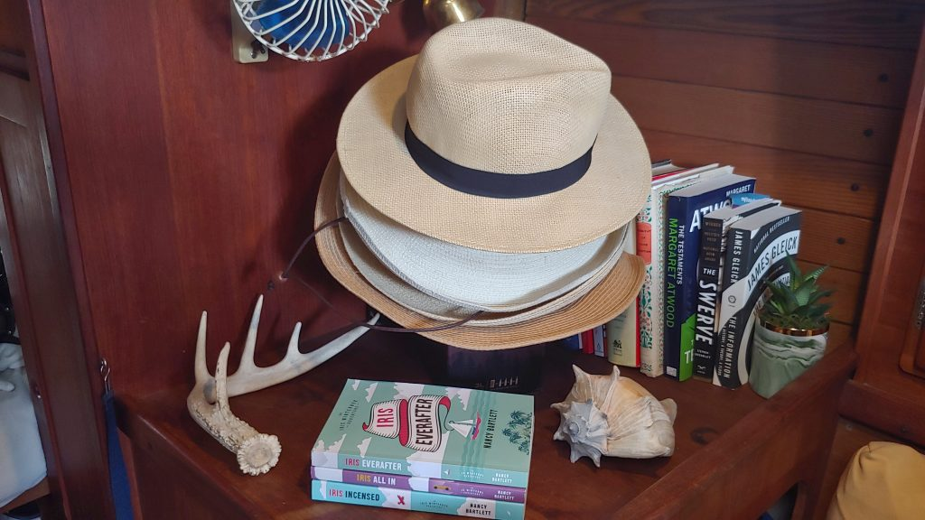 Nancy Bartlett books and hats